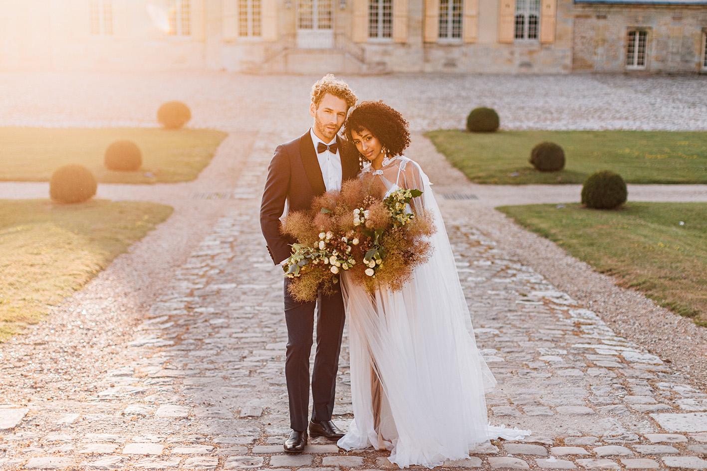 le chateau de Villette Condécourt wedding