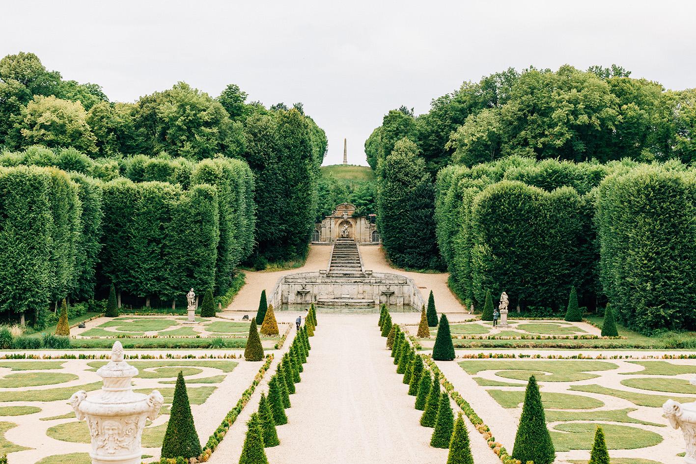 chateau de villette Condécourt wedding