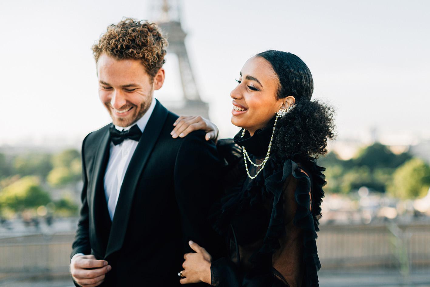 Paris engagement session photographer