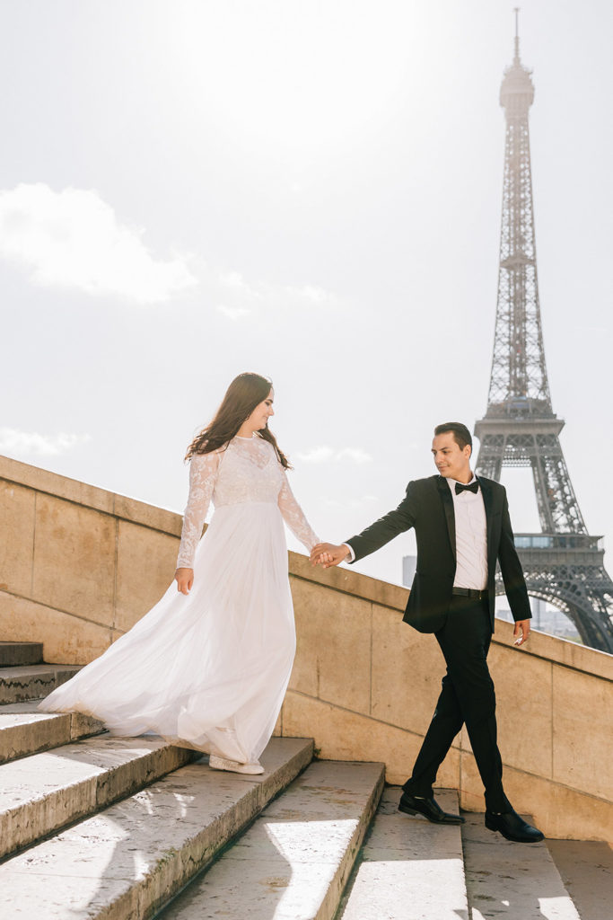 Eiffel Tower photographer elopement