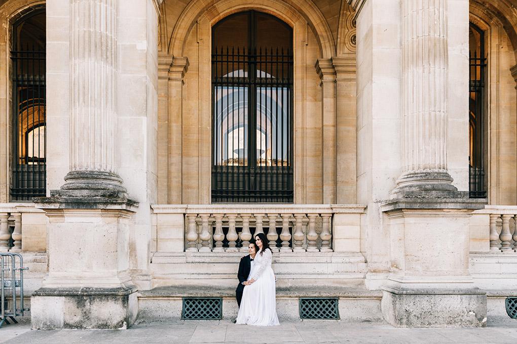 fontaine Médicis elopement mariage paris